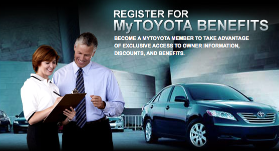 Toyota Owners Website