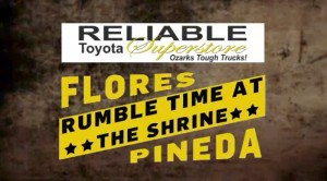 Reliable Toyota Presents – Rumble Time At The Shrine