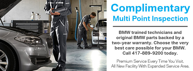 Bmw Service Specials For December Reliable Superstore